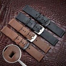Ремешок из натуральной кожи для samsung galaxy watch 46 мм huawei