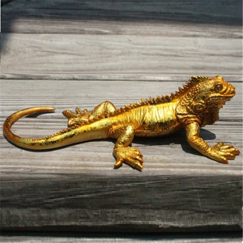 Creative Animal Vehicle-mounted Arts And Crafts Ornaments Personalized Home Decor Simple Lizard Ornaments A583