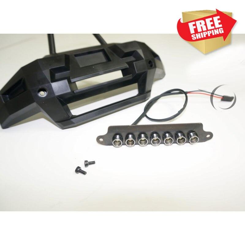 RC Parts XMAXX  Bumper Light LED 5mm For 77086 TRAXXAS 1/5 X-MAXX Option Upgrade