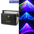 3 Вт ILDA 3D сканирование лазер для сцены, светильник Свадебные вечерние профессии сильный луч DMX светильник ing клуб DJ Сканер для проведения ани...