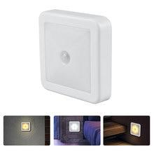 Новый Свет ночи датчика движения Сид свет интеллектуальный пир для ванной комнаты прикроватные коридор междурядья туалет лестница освещение шкафа