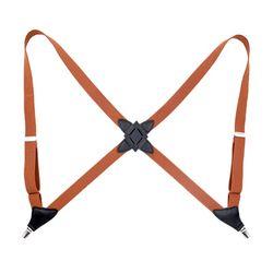 Cinturón de suspensión ajustable adulto Unisex hombres mujeres Clip-on brackets Clip Pantalones Pantalón 40JF