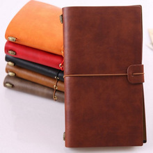 Hot Sale PU Leather Notebook Handmade Vintage Diary Journal Sketchbook Planner TN Travel Notebook Cover