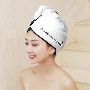 Image 5 - Free Shipping Magic Microfiber Hair Fast Drying Dryer Towel 25cmx65cm Bath Wrap Hat Quick Cap Turban Dry