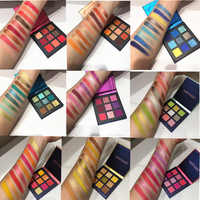 Beauty Glazed 9 Colors High Pigmented Matte Eye Shadow Palette Glitter Shimmer Eyeshadow Makeup Pallete Make Up Professional