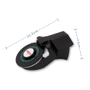 Image 3 - Czarna tłoczona drukarka do etykiet do wersji MOTEX E101 aktualizacja CIDY C101 Mini DIY ręczna maszyna do pisania pasuje do 9mm 3D taśma z etykietami