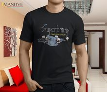New SUPERTRAMP The Very Best Crime of The Century Men's Black T-Shirt Size 100% Cotton Short Sleeve O-Neck Tops Tee Shirts 2019 цена