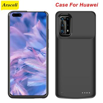 Перейти на Алиэкспресс и купить Araceli для Huawei P30 P30 Pro P40 P40 Pro Maimang 8 чехол для зарядного устройства чехол для смартфона внешний аккумулятор P40 Pro Чехол для аккумулятора
