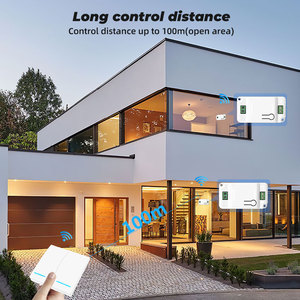 Image 4 - SMATRUL 1/2/3 Gang 433Mhz Smart Push Wireless Wall Switch Light RF Remote Control 110V 220V Receiver Home Button Ceiling Lamp