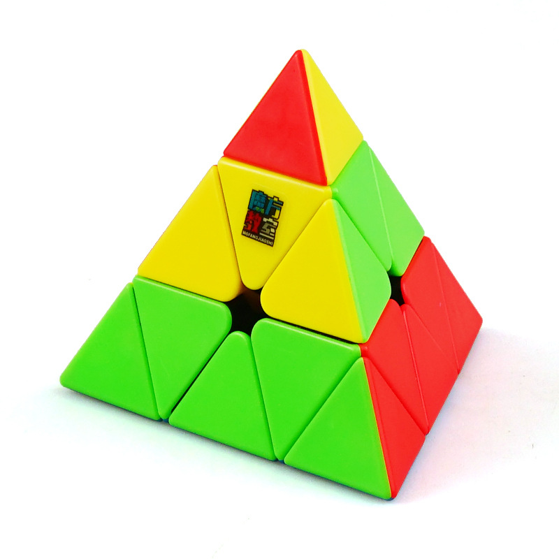 MoYu Meilong Cubo Magico 3x3x3 Jinzita Pyramid Cube Magic Speed Cubes Professional Puzzle Cubes Education Toys For Kids