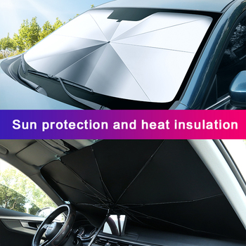 Automotive interior Car parasol Car Windshield Cover UV Protection Sun Shade Front Window Interior Protection car accessories