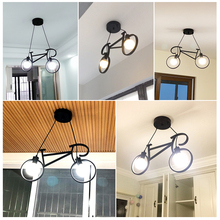 retro pendant lamp creative iron bicycle nordic light for living room restaurant bar industrial personality hanging lamps