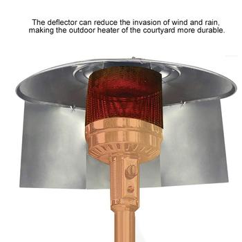 Odbłyśnik tarcza grzejniki tarasowe ogrzewanie zewnętrzne grzejniki podwórzowe odbłyśnik ogniskowy narzędzia ogrodowe z gazem ziemnym tanie i dobre opinie CN (pochodzenie) Heaters Shield Na stanie Foldable Reflector Shield for Propane electroplated iron 11 7*15inch 35*15inch