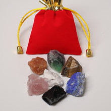 Cristal natural original de quartzo minério energia mineral pedra jóias mineral espécime presente diy sete chakra cura pedra