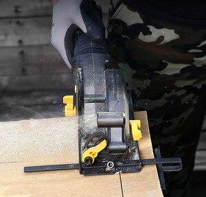 Image 4 - 120V/230V 600W/705W Elektrische Power Tool Elektrische Mini Kreissäge Mit Laser multi funktion Säge Für Holz, PVC Rohr, Fliesen