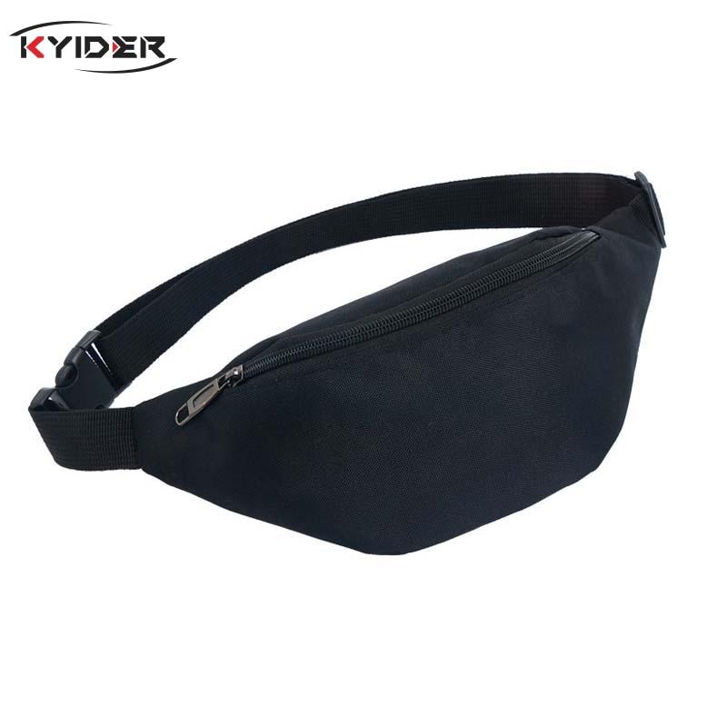 KYIDER Waist Bag Women`s Belt Bag Travel Men Fanny Pack Hip Bum Bags Female Purse Ladies Belly Pouch For Phone Coins
