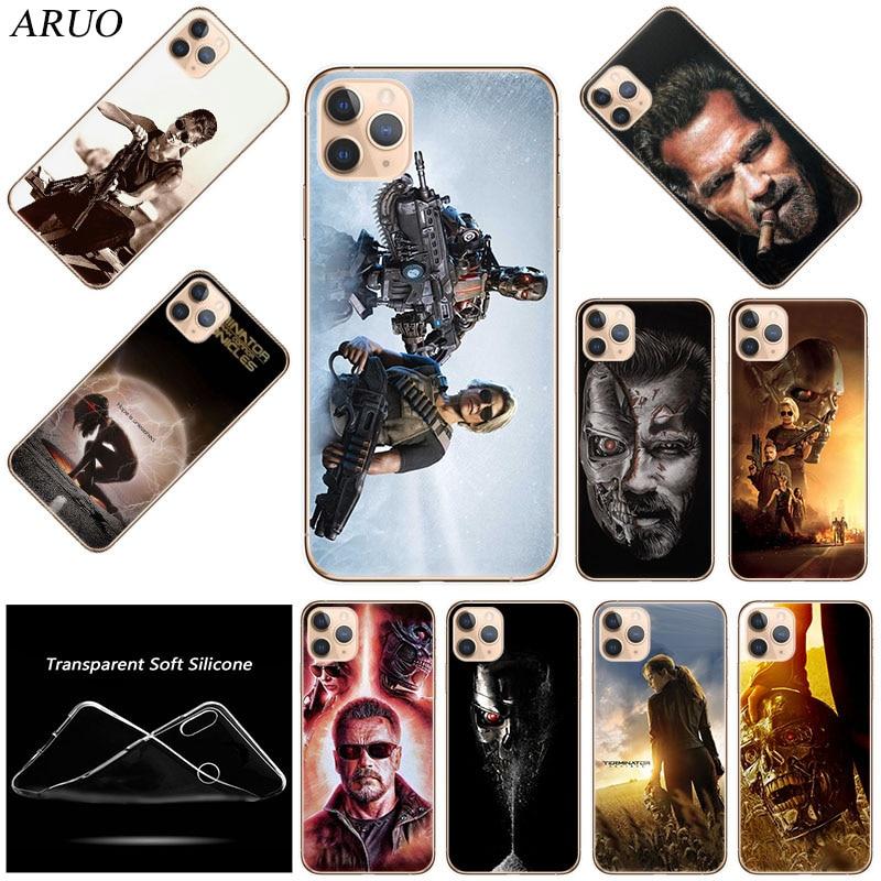 Coque de téléphone TPU souple en Silicone Terminator Dark Fate pour iPhone 12 mini 11 Pro XS Max 7 8 6 6s Plus SE2020 X XR 5 5s Couverture de mode