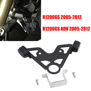 Steering stop directional positioner For BMW R 1200 GS Oil Cooler R1200GS ADV Adventure 2005 2006 2007 2008 2009 2010 2011 2012 image