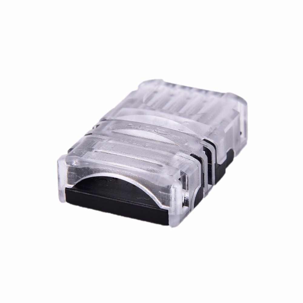 5 دبوس LED قطاع إلى سلك موصل ل 12 مللي متر RGBW RGBY مقاوم للماء IP65 5050 LED مصباح لاصق اتصال موصل جديد