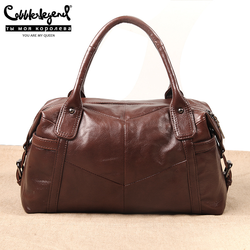 Cobbler Legend Big Bags For Women 2019 Genuine Leather Shoulder Bag Vintage Hand Purse Fashion Female Tote Famous Brand Bolsas