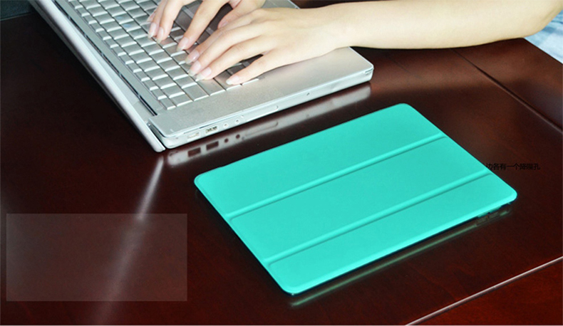 Qijun-Case Auto-Sleep 8th PU Fundas Apple Smart-Cover Gen iPad for A2428/A2429/Pc/..