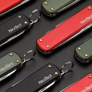 Image 5 - Многофункциональный мини нож Youpin Nextool, ножницы, отвертка, складной нож для фруктов, походный инструмент, клипса для выживания, острый резак