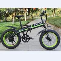 S9f 48v Electric Bicycle Folding 20 Inch Fat Bike 350w Electric Bicycle Bike bicicleta electrica electric bike e bike