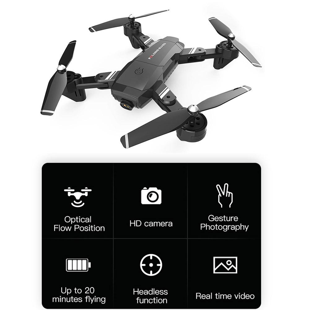 Rondaful S6 Drone 4k HD WIFI 1080P 720P FPV Drones With Dual Camera Video Live Recording Quadcopter For Beginners