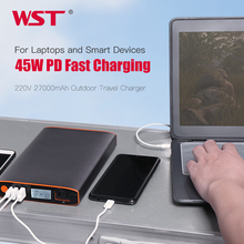 27000mAh Big Capacity Laptop Power Bank Charger with AC 45W