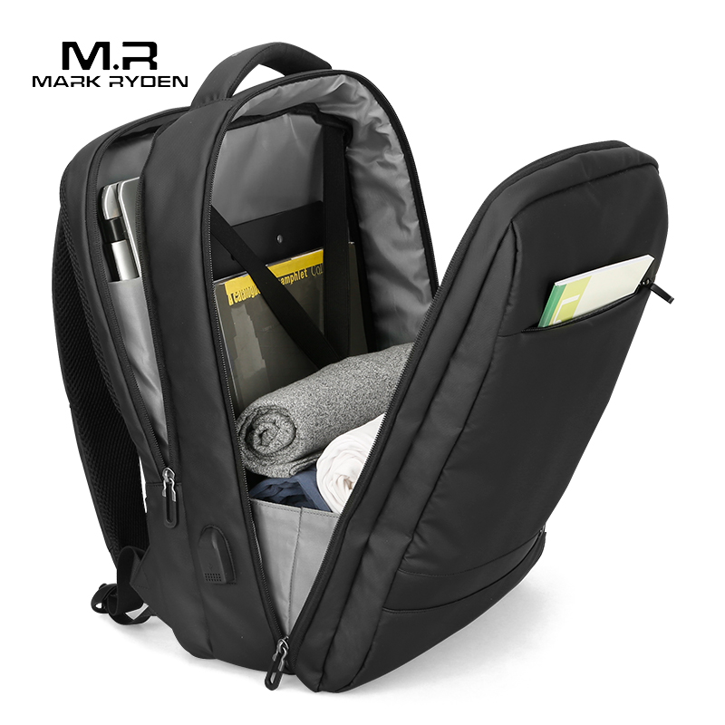 Mark Ryden Anti thief USB กระเป๋าเป้สะพายหลังชาย 15.6 นิ้วกระเป๋าแล็ปท็อปสำหรับชาย Multi layer กระเป๋าชาย travel Mochila-ใน กระเป๋าเป้ จาก สัมภาระและกระเป๋า บน AliExpress - 11.11_สิบเอ็ด สิบเอ็ดวันคนโสด 1