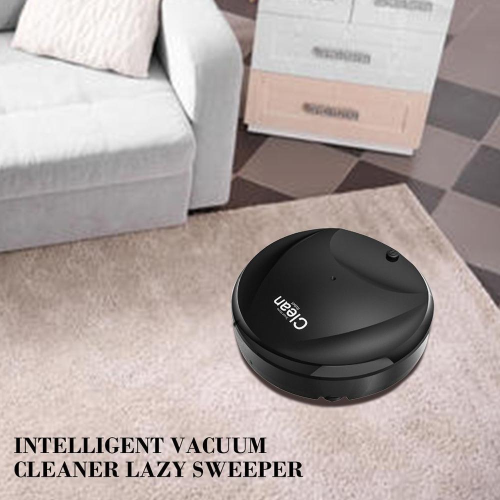 3 in 1 Ultra Dünne Design USB Lade Smart Mikrofaser Auto Robotic Mopp Boden Roboter-staubsauger Roboter Reinigung Gerät