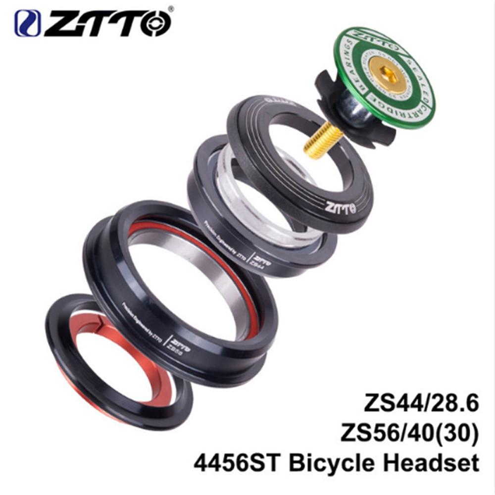 Auriculares ZTTO bicicleta cojinete sellado 44/56mm para tubo cónico de horquilla Soporte de boquilla hembra 1/2, Conector de manguera de punta de plástico macho 3/4, plantas de riego cónicas 1/2, 1 Uds