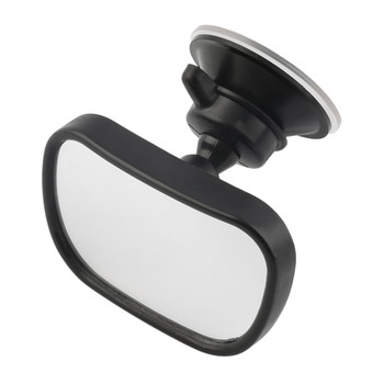 Baby Rear View Mirror Safety Car Back Seat Suction Clip-On Adjustable Convex Kids Monitor Accessories