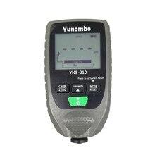 Yunombo YNB-210 автомобильный тестер краски толщиномер покрытие автомобиля толщиномер с подсветкой руководство на английском и русском языках