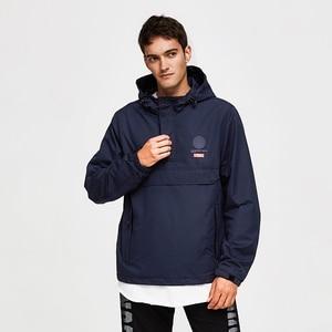Image 4 - TIGER KRAFT Männer Jacke Frühling Casual Jacken Hoodie Mit Kapuze Jacke Seite Zipper Front Tasche Mantel Europäischen Größe