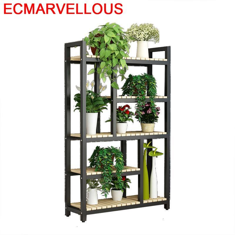 Garden Shelves For Ladder Shelf Indoor Suporte Flores Saksi Standi Dekoration Stojak Na Kwiaty Outdoor Flower Rack Plant Stand