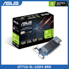 Asus-carte graphique GeForce GT 710, 1 go GDDR5, HDMI DVI \u0028GT710-SL-1GD5-BRK\u0029