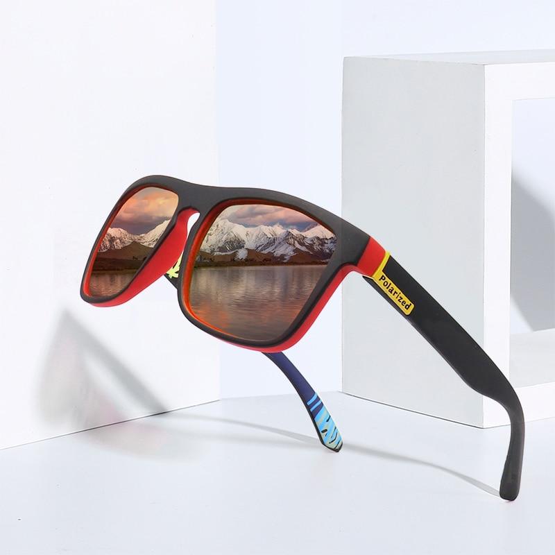 Fashion Guy's Sun Glasses From  Polarized Sunglasses Men  Luxury Brand Designer Vintage  Outdoor Driving Sunglass  UV400 Oculos