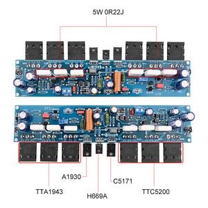 Image 2 - AIYIMA 2Pcs L10 Power Amplifier Board 300W HiFi 2.0 Channel Class AB Sound Amplifiers Amp Transistor A1930 C5171 TT1943 TT5200