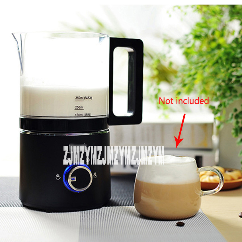 220V / 550W milk foam machine automatic coffee hot and cold playing milk electric fight foam business stainless steel milk