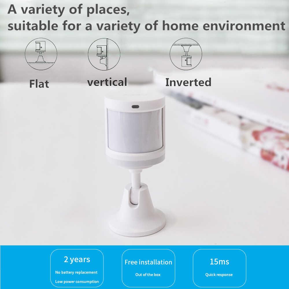 Aqara hareket sensörü akıllı insan vücudu sensörü ile çalışmak Homekit/Mi ev APP akıllı bağlantı Wifi Zigbee sensörü akıllı ev