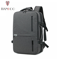 TIANHOO High Quality Men Backpacks Multifunctional Business Computer Backpack Oxford Cloth Outdoor Travel Bag