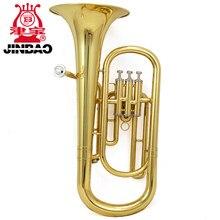 Jinbao-instrumento musical de eufonio en b, claxon de retención pequeño plano de tres llaves, instrumento de latón Palitong Jinbao 1220