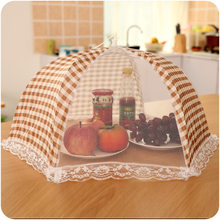 Foldable Table Food Cover Umbrella Style Anti Fly Mosquito Kitchen Cooking Tools Meal Cover Table Mesh Food Covers(China)
