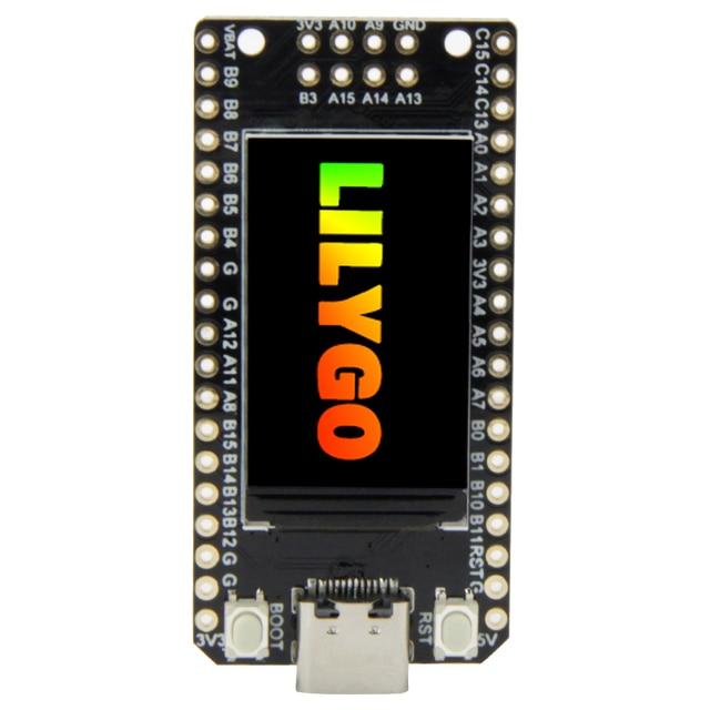 TTGO T Display GD32 GD32VF103CBT6 Main Chip ST7789 1.14 Inch IPS 240x135 Resolution Minimalist Development Board