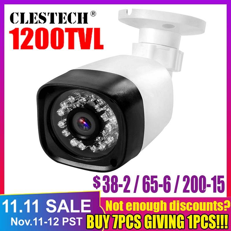 1200TVL CCTV system Security Camera Surveillance Waterproof Outdoor Coms  Analog