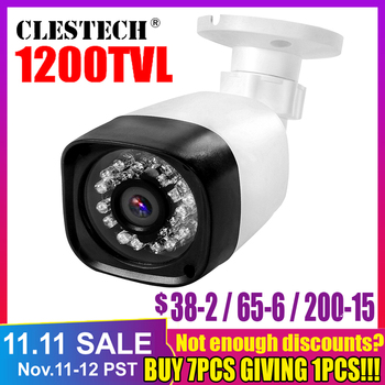 Cmos 1200TVL hd CCtv Camera Security Surveillance Video in/Outdoor Waterproof IP66 CVBS 960h Analog infrared Night Vision 30m best price 700tvl cmos 960h 36pcs ir leds day night waterproof indoor outdoor cctv camera with bracket free shipping