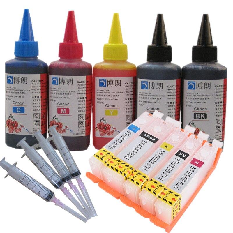 Пополнения чернил комплект 470 471 PGI-470 CLI-471 многоразового картридж для принтера canon принтерам PIXMA MG5740 MG6840 TS5040 TS6040 TS 5040 TS6040