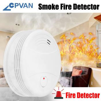 CPVan SM05W czujnik dymu WiFi detektor dymu Tuya kontrola aplikacji bezpieczeństwo ochrona przeciwpożarowa bezprzewodowy detektor ognia dla system alarmowy do domu tanie i dobre opinie CN (pochodzenie) Czujka dymu Wifi smoke detector Wifi rookmelder Tuya APP Smart life APP Using for home security alarm system