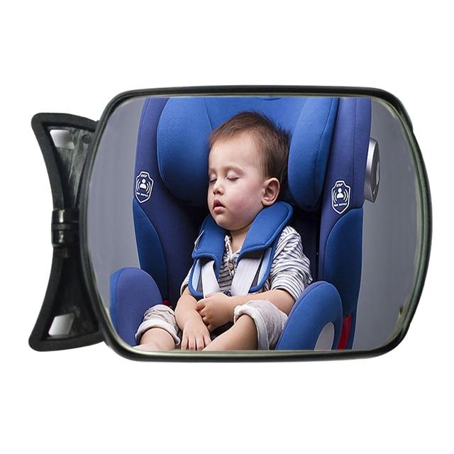 Rétroviseur de rétroviseur réglable   Rétroviseur de voiture, siège de sécurité, siège arrière face au bébé, soins pour nourrissons, grand angle, rétroviseur arrière